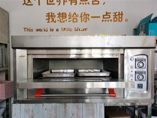 燃气单层双盘烤箱  9成新 私房烘焙干了一个月不想干了,烤箱  蛋糕柜  发酵箱买的都是**的,用...
