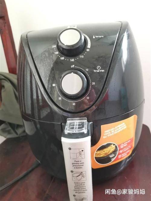 蒙达3.5升空气炸锅,199元入手,朋友最近送了个新的,140出手。 正常使用,平常给孩子炸薯条,...