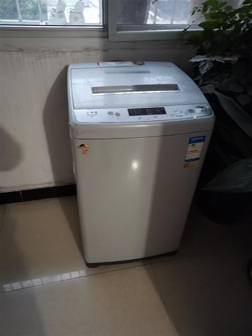 海尔大神童7公斤全自动洗衣机,搬家没地方放,所以便宜处理了,七八成新