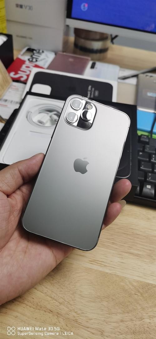 苹果12pro  石墨黑   256    国行全网通    全套配件齐全    激活25天    ...