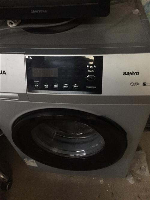 九成新滚筒洗衣机才用了一年多、然后因为搬新家换了
