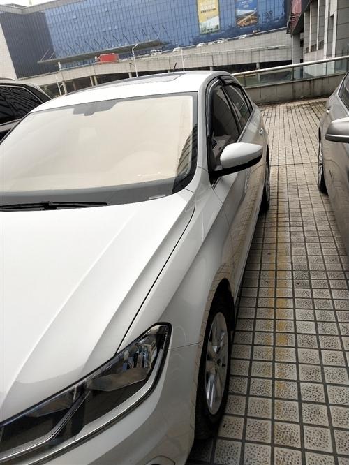 桑塔納17款  舒適版 手動1.6L   18年2月上牌2.1萬公里  新車落地價10萬多  車放到...