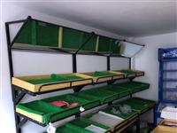 果蔬架1500元低價轉讓,蔬菜、果蔬架轉讓,使用了一個月,三層框的有三組,兩層框一層板的有三組,斗柜...