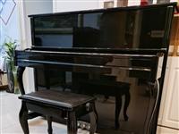 珠江钢琴P系列121**配置,使用了两年多,琴保护很好,表面没有划痕,在家闲置欲低价出售,联系电话1...