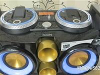飛利浦fwp3200d稀多媒體有源DJ打碟機雙功放音響,USB AUX,愛瘋手機接口,「AB兩組都能...