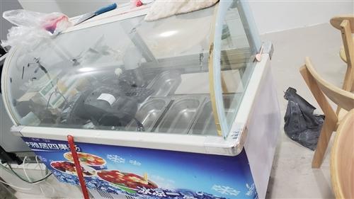 装修抛弃一台**制冷展柜 价格你定 富顺两校 18617191825