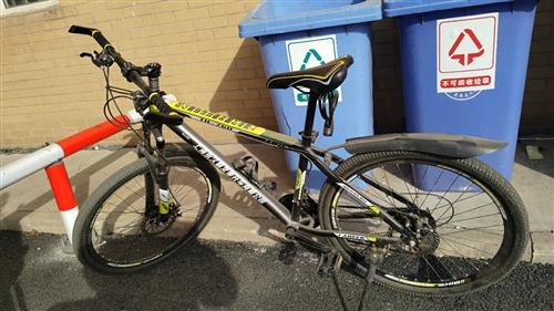 国产老牌永久牌21速山地自行车,品相好…