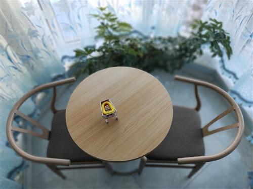 99新休闲桌椅一套,有需要的,便宜带走。