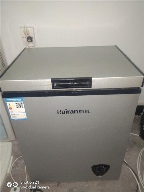 急转一个海冉小冰柜,容量129升,刚买半年多价格200元,有意者可联系我