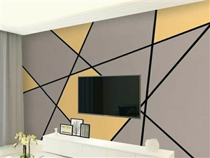 批发电视墙壁纸壁画壁布