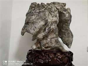 灵璧奇石、磬石画盘、磬石石雕……