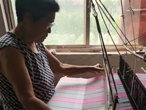 純手工生產老粗布