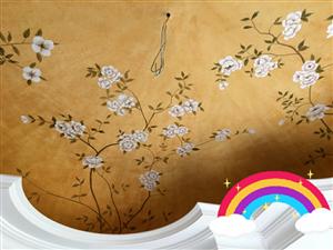 郑州墙绘手绘墙定制壁纸