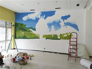 墙绘~室内室外墙绘