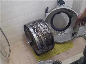 滚筒洗衣机深度拆洗