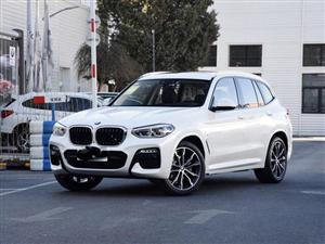 2020款白色寶馬X3婚車接親服務