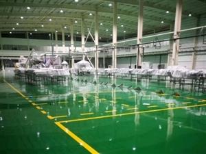 厂房车库环氧地坪漆 高耐磨聚氨酯地坪 防静电地坪