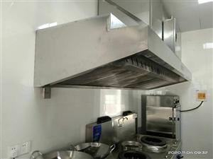 专业清洗酒店后厨油烟管道风机,风柜,油烟净化器