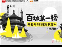 恭喜陇南视线第三次荣登网易新闻l网易号百城第一榜
