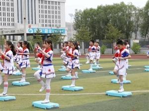 """离石区光明小学庆""""六一""""文艺汇演现场"""