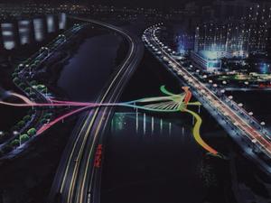 武都即将修建两座网红桥,提前带你看看