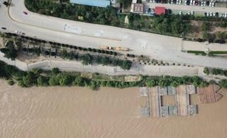 紧急提醒!黄河最高峰值已逼近滨州!警戒线已拉起!市民远离!