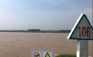 最大洪峰已到滨州!黄河水满成这样…现场视频震撼!