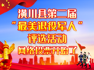 """潢川县第二届""""最美退役军人""""评选表彰及宣传推介活动"""