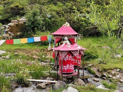�T行第43天,翻越川藏�第一座海拔4000以上的大山