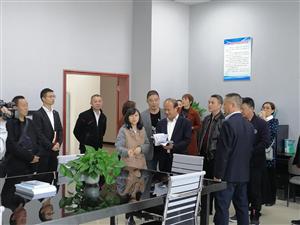 省工会代表、省总工会委员来邻调研视察工会工作