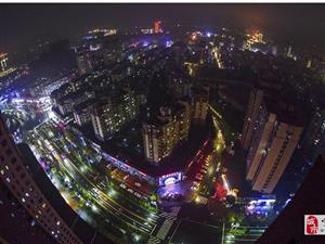 宣城城西夜景