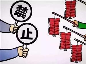 【重磅�U散】�P于阜���h城主城�^限(禁)燃放��花爆竹的通告