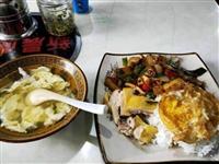 这样一份饭,一份汤,花了我40元,这价格是贵了还是便宜了?