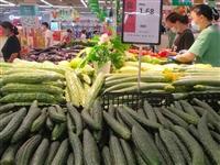 黄商超市的黄瓜才1.68,看着也新鲜,好便宜哇!