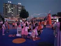麻城欢乐世界又开启一年一度的泡泡大战,大家有带小孩子去玩耍吗?