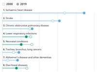 世卫发布最新全球健康预测报告