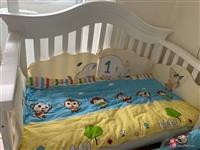 二手婴儿床低价出售