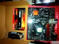 英特尔I3处理器加华擎B150主板上最新的DDR4