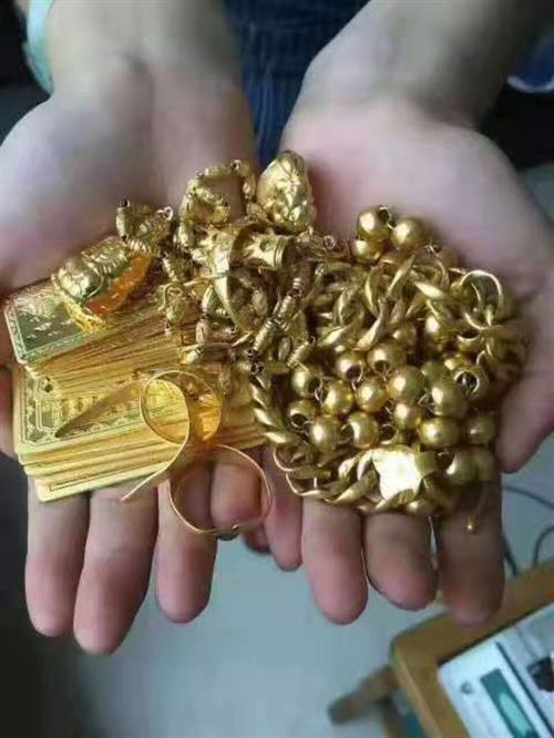 高价回收黄白金钻石名表汽车等