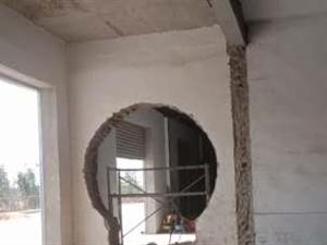 砸墙铲墙改门扒房打地坪,铲保温板,踢瓷片,打地板砖,拆隔断墙
