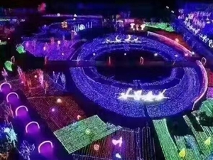 浪漫民族艺术灯光节出售制造生产厂家