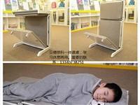 托管班輔導班專用折疊課桌椅,課桌可變床