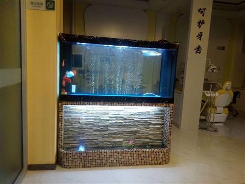 低價出售造景加濕瀑布流水魚缸