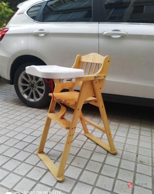 转让闲置宝宝餐椅一张9成新