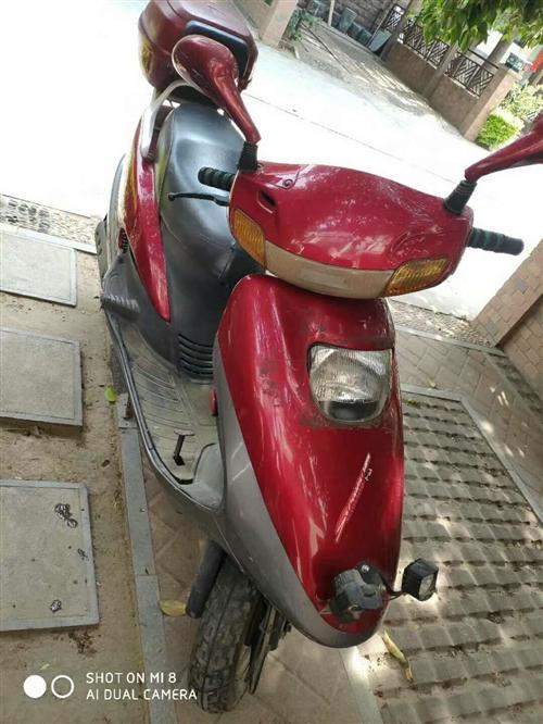 个人光阳125摩托闲置出售,天冷天热一点就着