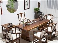 新款大板实木泡茶桌价格优惠