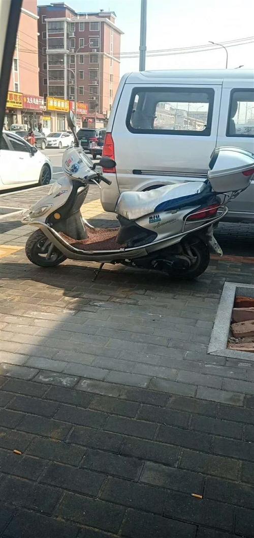 出售&#8236雅马哈迅鹰踏板摩托一辆
