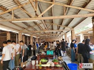 广州公司团建出游户外野炊做饭的好地方