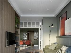 100㎡简约森系风,中性色家居布置,个性舒适的空间