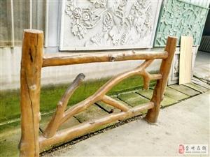 仿木栏杆在施工中的五大优势